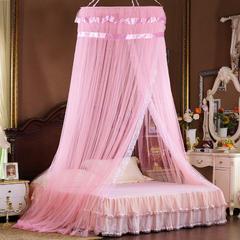 【文不叮】圆形中吊顶——同心圆 2.0米床用 粉红