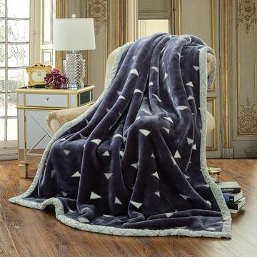 【文不叮】超柔拉舍尔毛毯系列