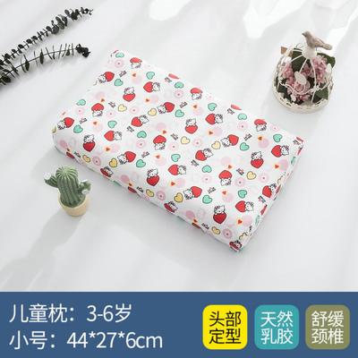 2019新款学生乳胶枕 30*50-6-9cm(4-9岁适用) kt猫