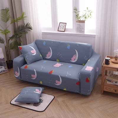 2019新款万能沙发套 1人90×140 猪猪乐