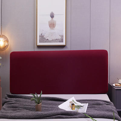 2020新款美肤条床头罩 1.2m 拉菲红