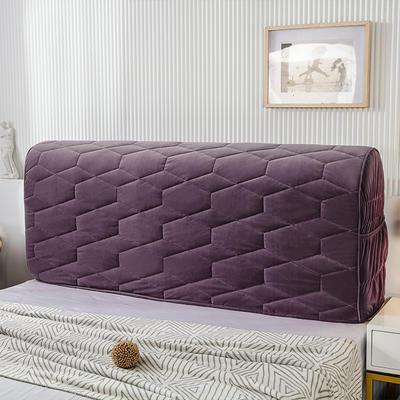 2020新款铂金绒床头罩 1.2米 梦幻紫