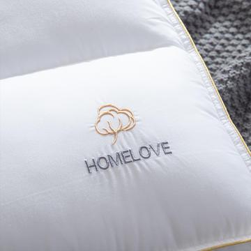 2019新款简约全棉分区低枕头枕芯