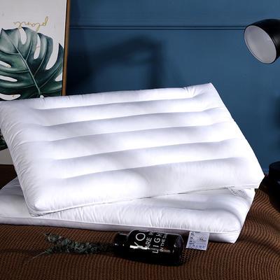 2019新款48*74薄枕低枕头成人护颈羽丝低枕头枕芯 护颈枕/只