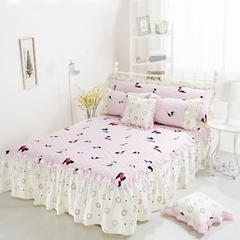 单品韩式系列 韩式夹棉床罩 120*200 时尚瑜伽