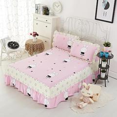单品床罩类8 印花单层床罩 120*200*45cm 乖乖兔