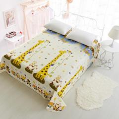 单品印花系列 印花直角床单 120*230cm 长颈鹿