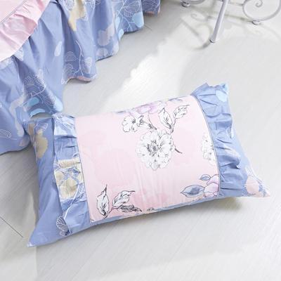 单品枕套类1  全棉 韩式单层枕套 45cm*74cm 喜上枝头