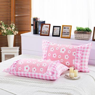 单品枕套类1  全棉 韩式单层枕套 45cm*74cm 小家碧玉