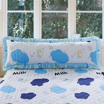 单品枕套类10  全棉夹棉长枕 45cmX120cm 迷你奶牛