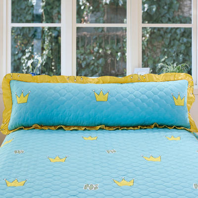 单品枕套类10  全棉夹棉长枕 45cmX120cm 奇妙皇冠