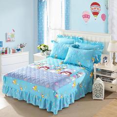 单品床罩类9  印花夹棉床罩 120*200*45 动物园