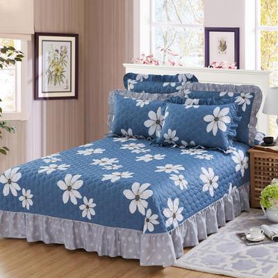 单品床单类4 全棉印花夹棉床单(床盖) 250*250cm 梦境花