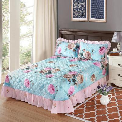 单品床单类4 全棉印花夹棉床单(床盖) 250*250cm 倾世皇妃