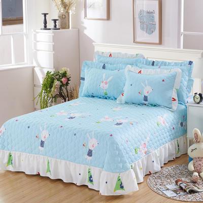 单品床单类4 全棉印花夹棉床单(床盖)50 200*240cm需定做 一见倾心