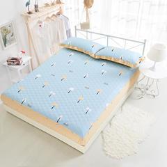 单品床笠类2 印花夹棉床笠(床垫套)92个 180cmx200cm 美好心情