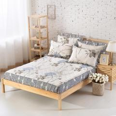 单品床笠类2 印花夹棉床笠(床垫套)92个 150cmx200cm 似水流年