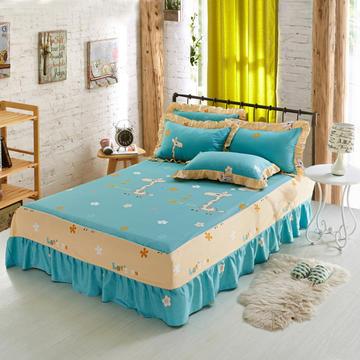 单品床罩类1 AB版单层床罩/床裙59个+22个总 120*200*45cm 奔跑小鹿