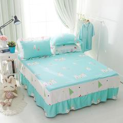 单品床罩类1 AB版单层床罩/床裙59个+22个总 120*200*45cm 萝卜兔-蓝