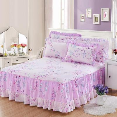 单品床罩类3-1 全棉春天款单层床罩/床裙18个 120*200cm 彼岸花开