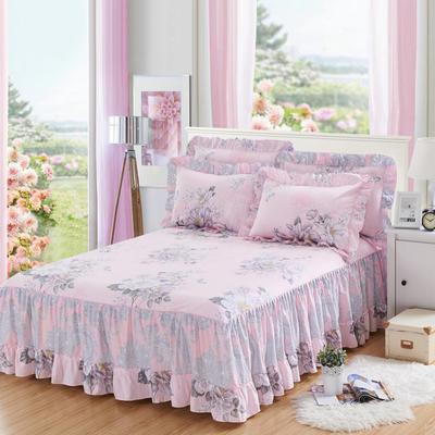 单品床罩类3-1 全棉春天款单层床罩/床裙18个 120*200cm 罗兰季节
