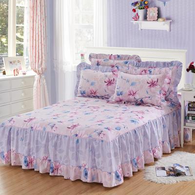 单品床罩类3-1 全棉春天款单层床罩/床裙18个 120*200cm 美人鱼