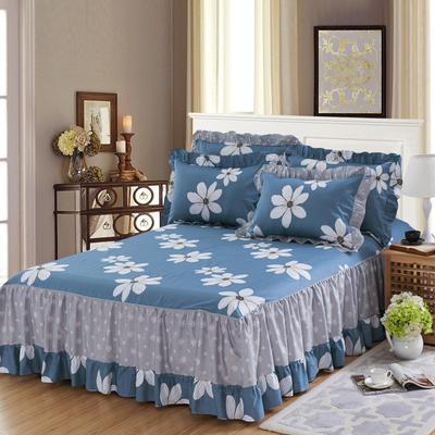 单品床罩类3-1 全棉春天款单层床罩/床裙18个 120*200cm 梦境花