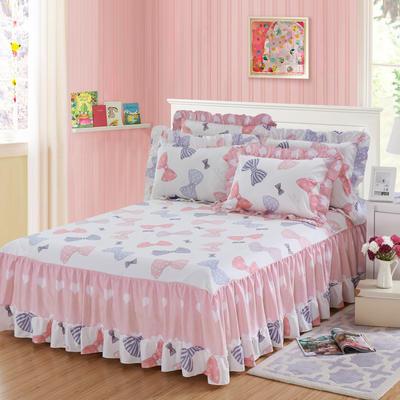 单品床罩类3-1 全棉春天款单层床罩/床裙18个 120*200cm 淑女日记