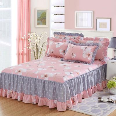 单品床罩类3-1 全棉春天款单层床罩/床裙18个 120*200cm 赞那度