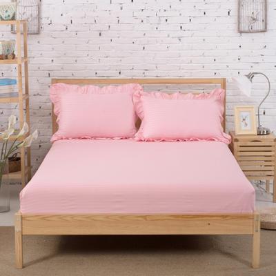 单品床笠类3 缎条单层床笠(床垫套)12 120cmx200cm 玉色