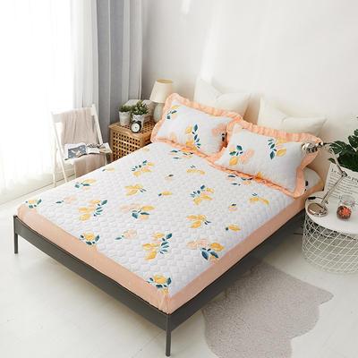单品床笠类2 印花夹棉床笠(床垫套) 120cmx200cm 柚香
