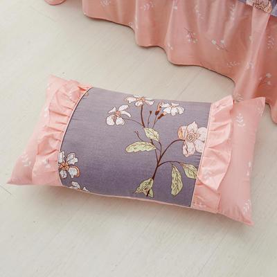 单品枕套类1  全棉 韩式单层枕套 45cm*74cm 韩春晓