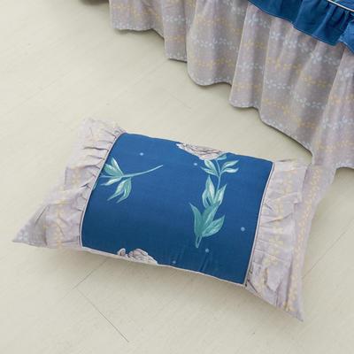 单品枕套类1  全棉 韩式单层枕套 45cm*74cm 韩唯野