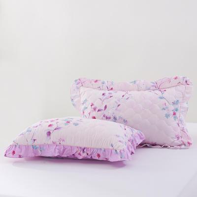 单品枕套类4   全棉普通夹棉枕 45CMX75CM 更多花型备注留言