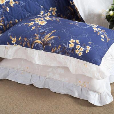 单品枕套类4   全棉普通夹棉枕 45CMX75CM 暗香
