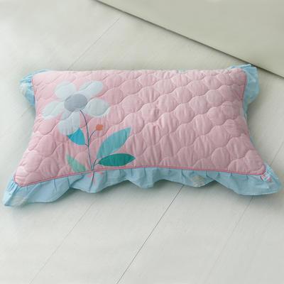 单品枕套类4   全棉普通夹棉枕 45CMX75CM 初心
