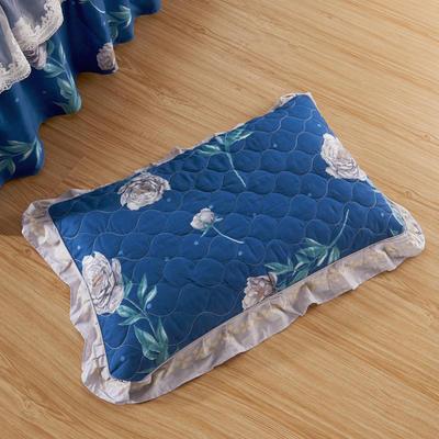 单品枕套类4   全棉普通夹棉枕 45CMX75CM 唯野