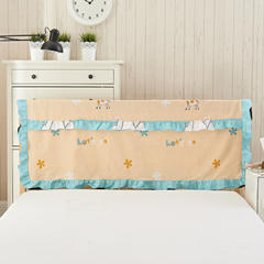 单品枕套类12  全棉 单层床头罩 120*100 雪岭熊风