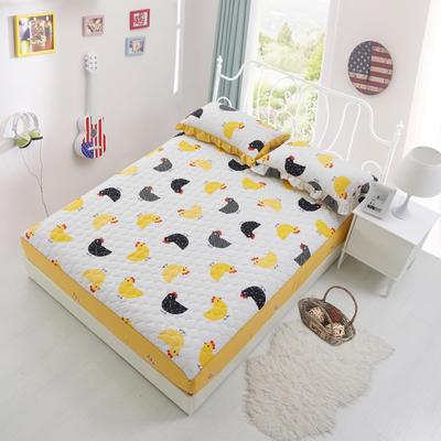 单品床笠类2 印花夹棉床笠(床垫套) 120cmx200cm 格格吉祥