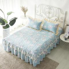 单品床罩类13 蕾丝款夹棉床罩/床裙 16个 120cmx200cm 兰语