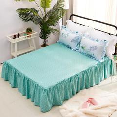 爱妮玖玖  暖冬系列四季款单品床裙 120cmx200cm(定做) 蕉叶