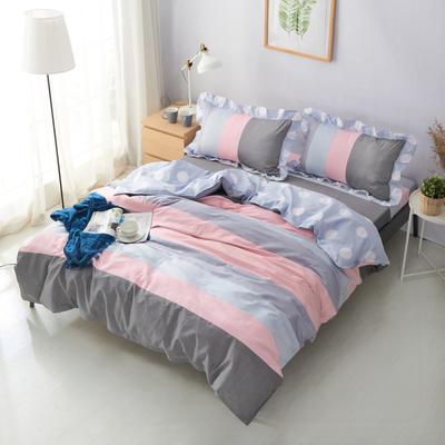 套件19 全棉小清新多规格床单四件套46 小四件套1.0-1.35床 日光倾城