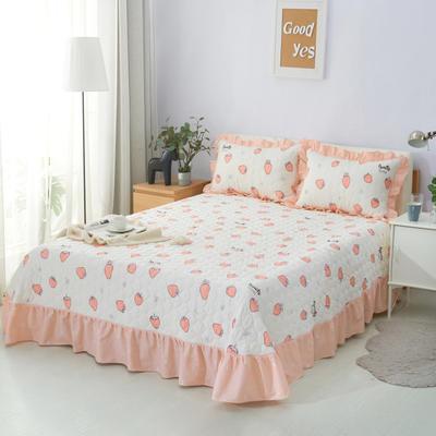 单品床单类4 全棉印花夹棉床单(床盖)50 200*240cm需定做 蜜糖