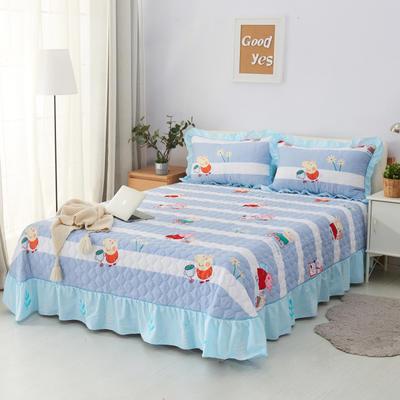 单品床单类4 全棉印花夹棉床单(床盖)50 200*240cm需定做 琦琦猪