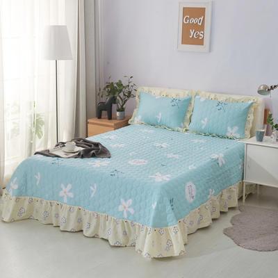 单品床单类4 全棉印花夹棉床单(床盖)50 200*240cm需定做 沁香