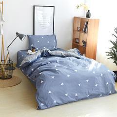 全棉宿舍三件套 1.0m(3.3英尺)床 爱巢之恋