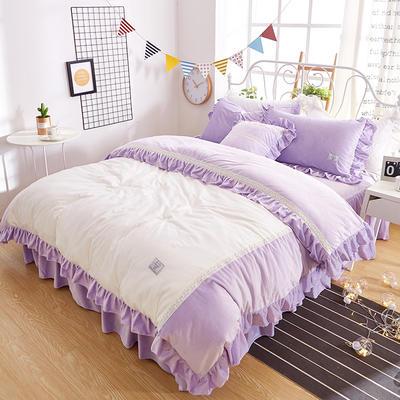 情书{绒布款} 标准(1.5m床) 情书-紫