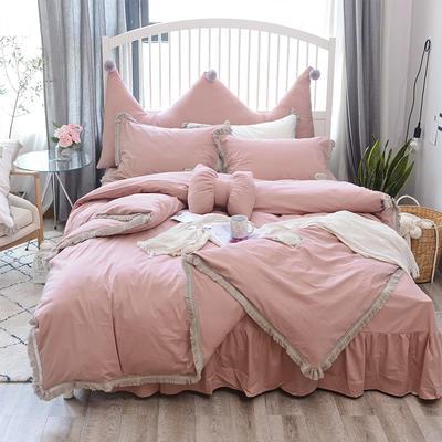 2018新款宁静全棉款---单款 1.2m床 宁静夏季款-豆沙