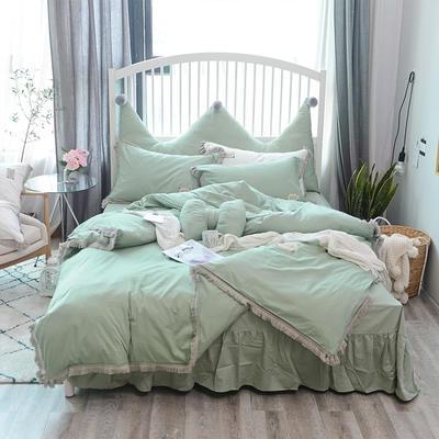 2018新款宁静全棉款---单款 1.2m床 宁静夏季款-绿