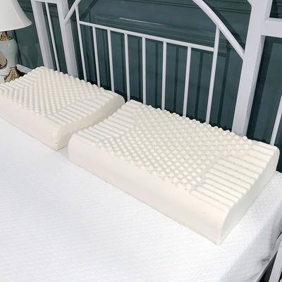 2019新款乳胶枕(60*40cm枕芯) 颗粒乳胶枕